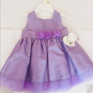 Other - Girls Spring Lilac Sleeveless Dress with flowers